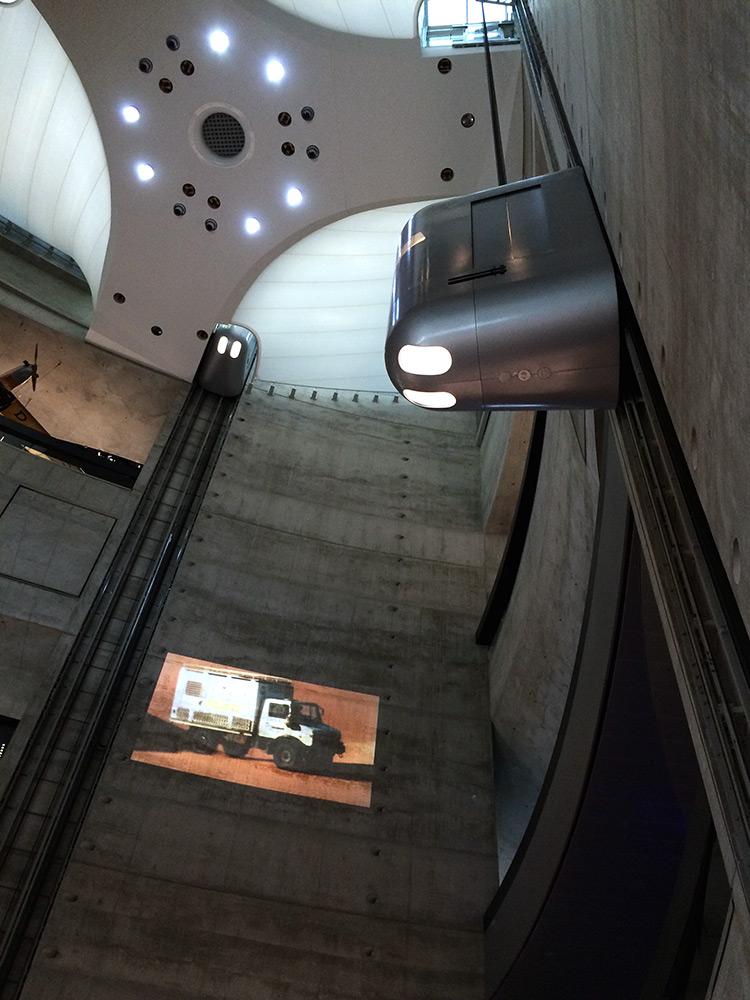 Mercedes-Benz Museum elevators