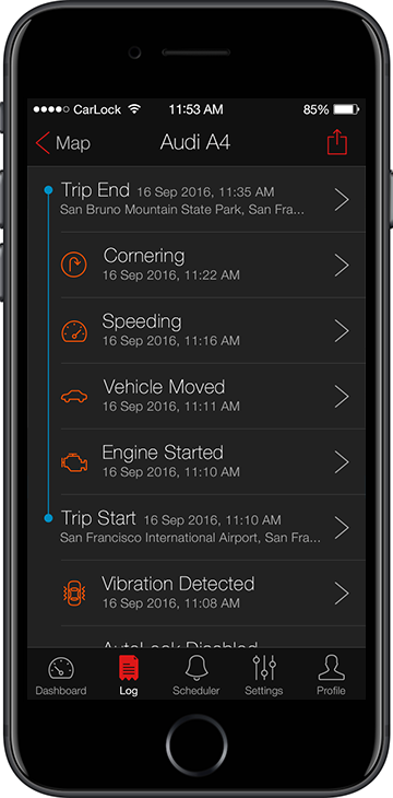 CarLock GPS car tracker