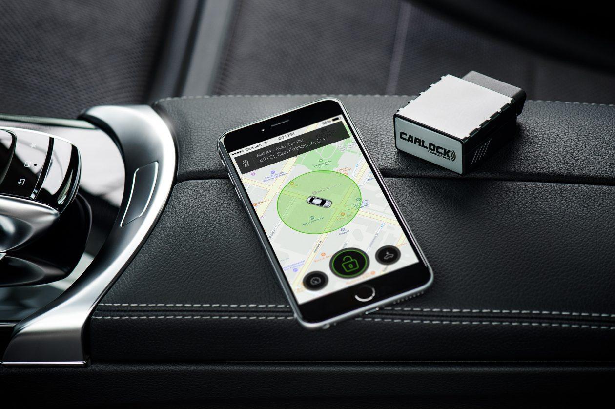 CarLock car alarm and application