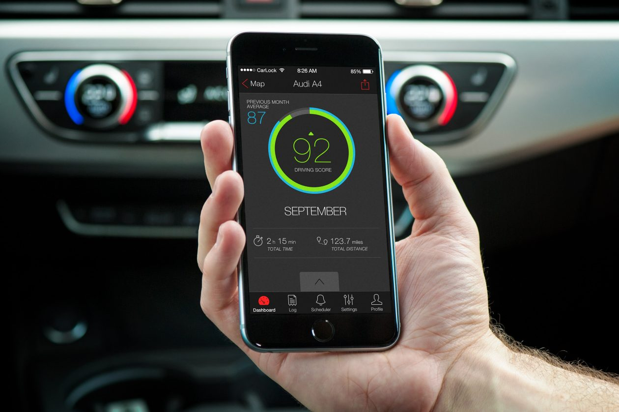 advanced real-time gps car tracker with phone app