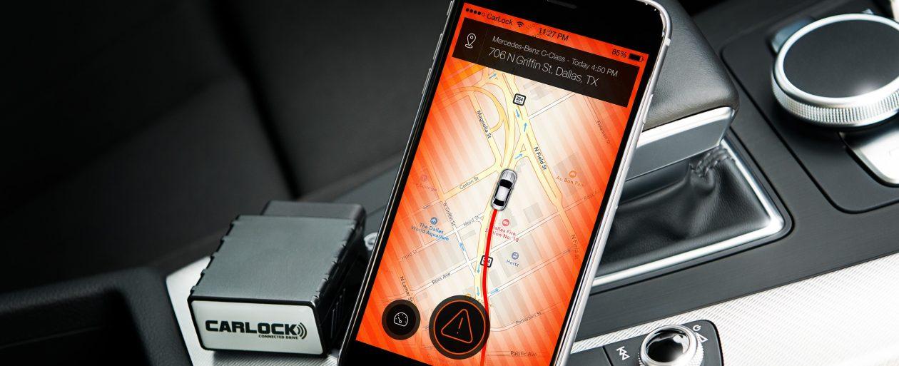 Car alarm security app