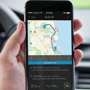 automatic car tracker