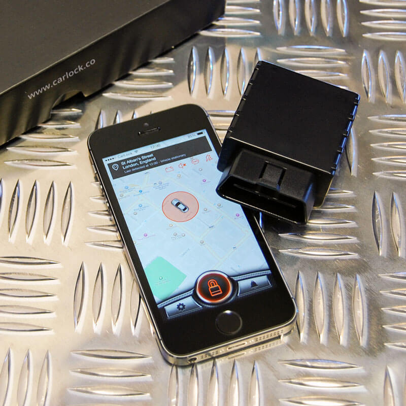 CarLock GPS car tracker - Basic car tracking and car security features